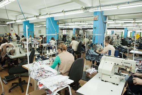 Team Fashion production floor